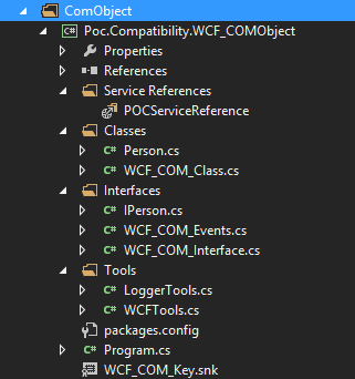 Project COM Object